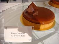 私がいちばん好きだったのはこの「タルト・カラメル・オ・ブール・サレ」。