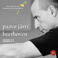 パーヴォ・ヤルヴィー指揮、ベートーベン7番のCD。大きな河の激しい流れとメリーギーランドのような楽しさがミックスされた世界観。