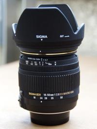 シグマの18-50mm F2.8 EX DC MACRO/HSM