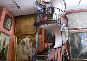 from パリ(たなか) - 85 - ギュスターヴ・モロー美術館、螺旋階段の魔法。
