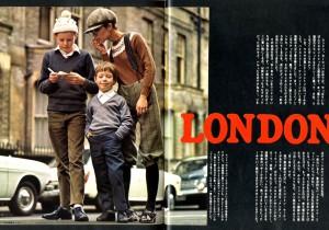 Magazinehouse Digital Gallery vol. 2 1970年3月『anan』創刊号より その2ユリのヨーロッパ《ロンドンボーイ》