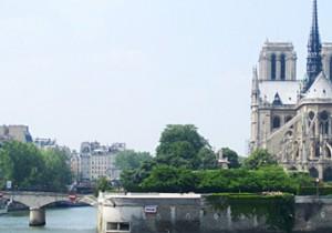 Par-delà le Pont  - 9 - Pont de l'Archevêché聖母の背中から伝う愛が染み渡るアルシュヴェシェ橋。