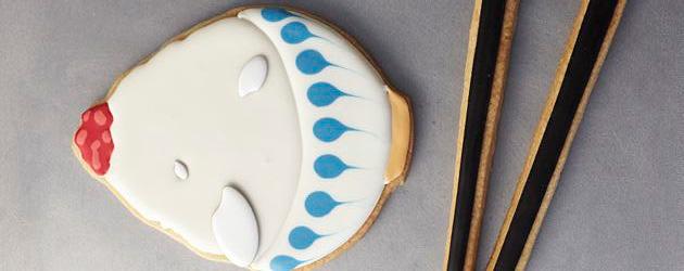 見る人、食べる人を思わず笑顔にする『クッキーボーイの七宝 展』