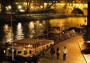from パリ(河) - 19 - パリの夜の夢幻想的な光に包まれる夜のパリ。
