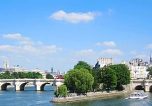 Par-delà le Pont  - 13 - ポンヌフ(Pont Neuf)時を超えて人々を楽しませるパリ最古の橋ポンヌフ。