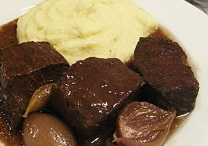 白ご飯に合うフレンチ - 4 -牛肉の赤ワイン煮込み
