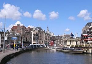 早春のアムステルダム