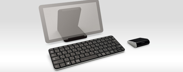 Windows 8タブレットを使うにはこの新キーボード&マウスが便利!