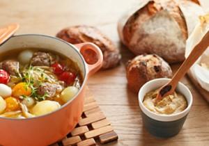 TOTOSK KITCHEN Vol. 6 タイム サルシッチャのスープとなすのとろーりソース