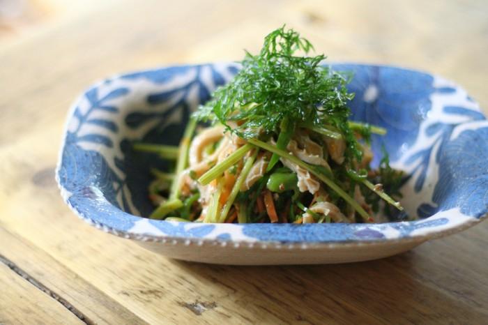 ラムのトリッパの香草のサラダ