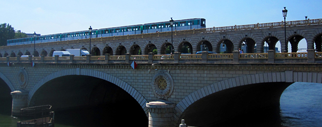 Par-delà le Pont  - 16 - ベルシー橋(Pont de Bercy)CMにも出る超有名橋の、対抗馬? ベルシー橋