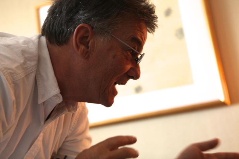 『マリー・アントワネットに別れを告げて』のブノワ・ジャコー監督 ©2012 by Peter Brune