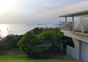 近代美術館 葉山の、眺めのいいレストラン