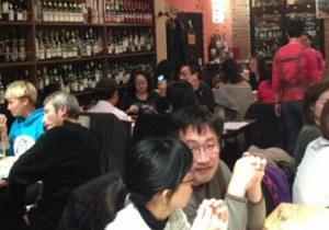 from 北京 - 34 - ここは日本? 北京のワイン居酒屋『萬火(Vin Vie)』。