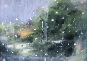 『雨と休日』が描く穏やかな音楽の風景「窓につたう雨は」。