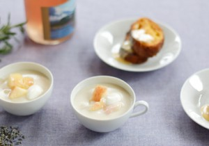 TOTOSK KITCHEN Vol. 16 ラベンダーラベンダーで作る ほんのり甘いスープとソース