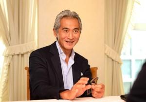 片岡英彦のNGOな人々 (Non-Gaman Optimists)日本料理と料理人たちのチカラ 辻調グループ代表・辻 芳樹さん。