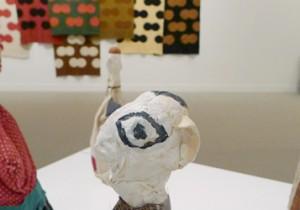 世田谷美術館『柚木沙弥郎 いのちの旗じるし』砧公園の森を眺めるランチと柚木沙弥郎展。夏を元気に。