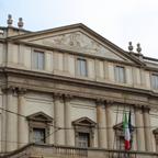 オペラの殿堂「スカラ座」。いつの日にか、ここでオペラを観てみたい。