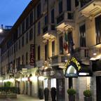 早朝のミラノの街角を歩いてみると、様々な発見が待っている。