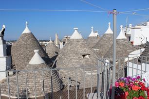 アンナ・マリア・マタレーゼ家の屋上からの眺め。