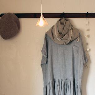 シンプルな中に可愛らしさがあるAN Linenの洋服