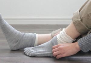 from芦屋 -2- hacuの靴下展 2013 A/W肌触りがよく、温かみのある愛らしいhacuの靴下たち