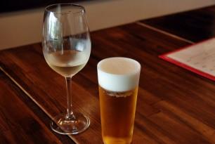 とりあえず生ビール、というくらい生樽ワインもお気軽にどうぞ。