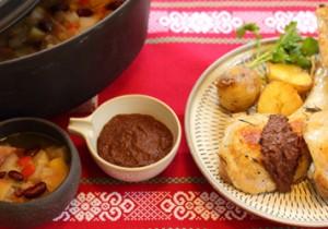 TOTOSK KITCHEN Vol. 20 クローブシナモンのお豆たっぷりスープとメキシカンスパイシーソース