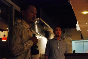 日本酒餐昧うつつよ店主・藤井さん(左