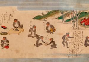 和菓子もカワイイ!山種美術館にて『特別展 Kawaii日本美術』