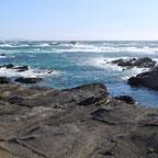 ミシュラン二つ星、自然むき出しの海岸