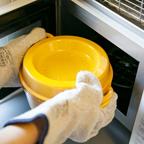 6.蓋をして鍋を180℃に予熱したオーブンに1時間入れる。