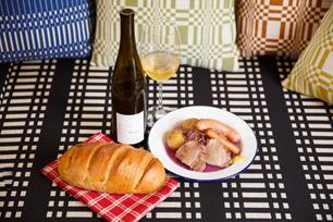 調理とお供にアルザスワイン、リースリングを使って
