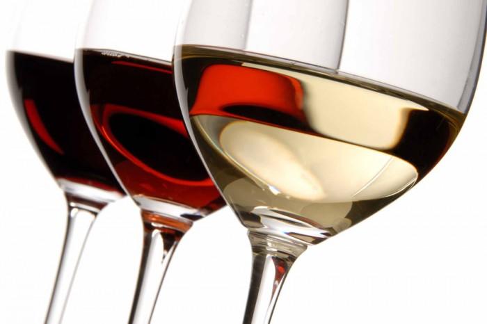Three-wine-glasses