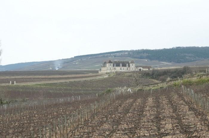 城は畑の中にある
