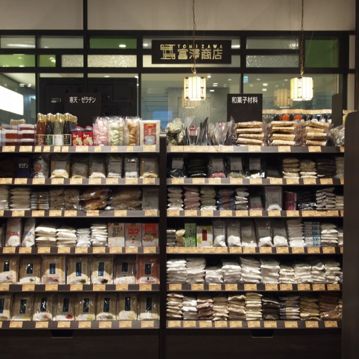 B1F『富澤商店 コレド室町店』。スタジオを併設、料理のデモンストレーションイベントが開催されます。