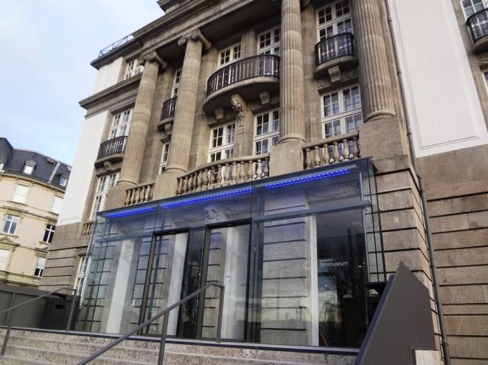 ドイツ・フィルム・ミュージアム入口。