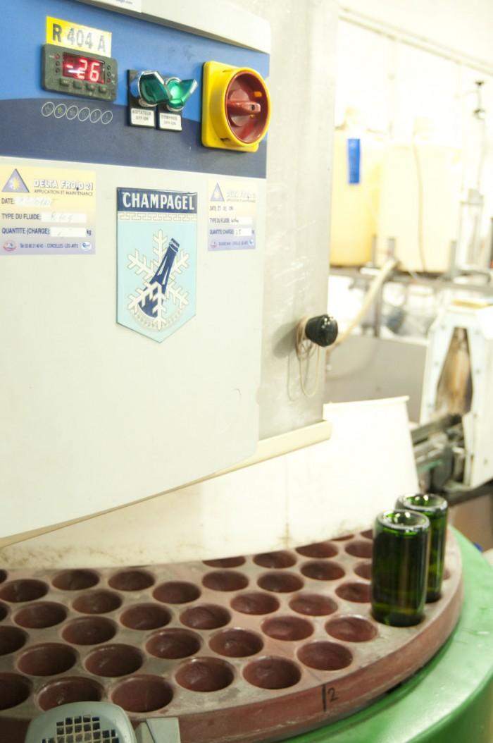 デゴルジュマンはこの機械で行う