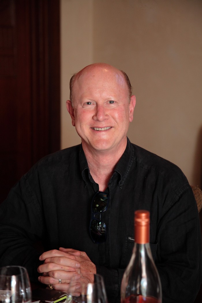 美しいロゼを生み出すワイン・メーカー、マーク・ライアン