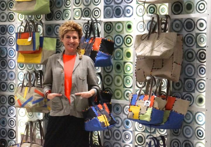 『カルミナ カンプス』イラリア・V・フェンディ インタビューアフリカ女性の起業を支援する『MADE IN AFRICA』のバッグ。