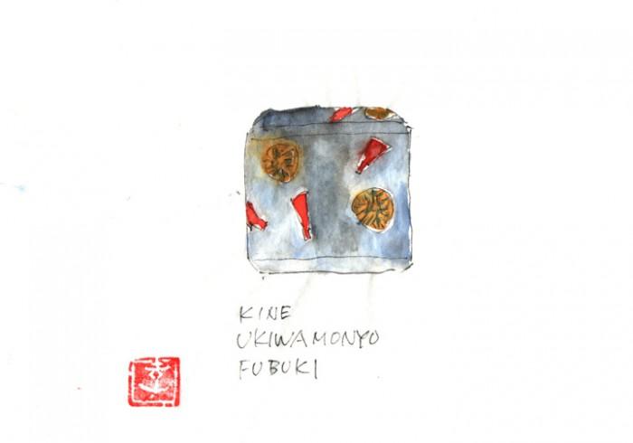 吹雪薄茶器。梨地銀彩杵雪輪文様蒔絵、華やかな杵と雪輪のお道具です。©Takayoshi Tsuchiya