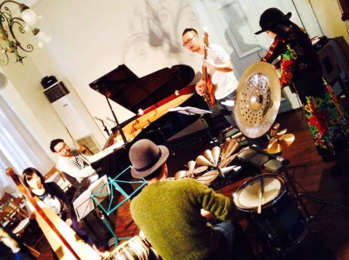 「間を奏でる」旧グッゲンハイム邸でのライブ