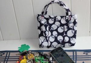 籾山由美の東京-島根 小さな暮らし待ち遠しい花火大会。浴衣の切れ端、はぎ合わせて作る手提げ袋。