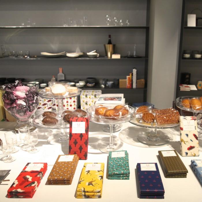 フードではNY発こだわり豆のチョコレート『マストブラザース(Mast Brothers Chocolate)』、フランスの『ラ・ヴィエイユ・フランス(La Vieille France)』焼き菓子など。