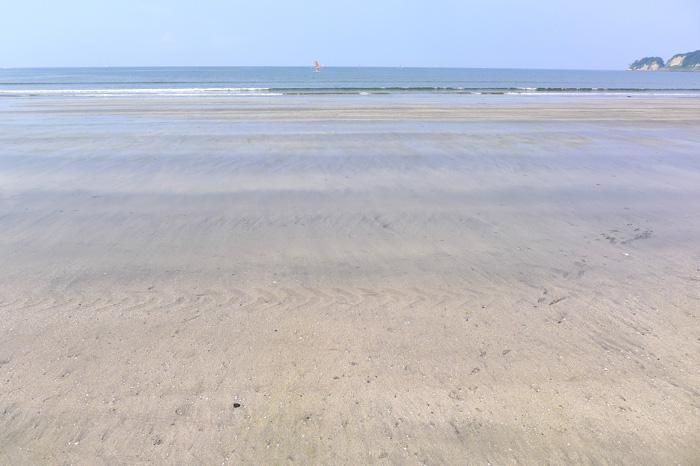 東京から1時間で、広く静かな海がある。