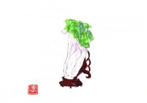 土屋孝元のお洒落奇譚。台北國立故宮博物院展で、あの「翠玉白菜」を見る。