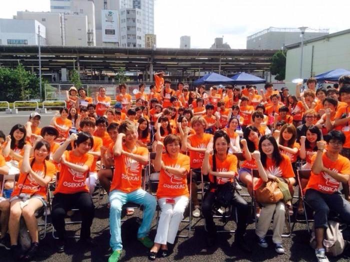 オレンジのTシャツを着たボランティアが、どんどん増えてくるのが楽しみです。