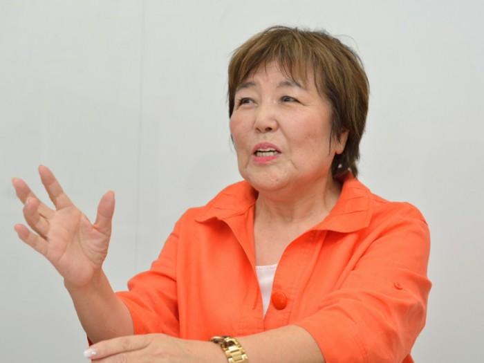 一般社団法人おせっかい協会副理事長 高橋恵さん。photos / 渡辺遼