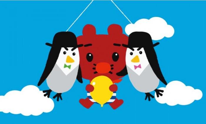 空たかく飛んで行くと、ふうせんウサギや、ふうせんペンギンのペンとギンなどの仲間に出会います。